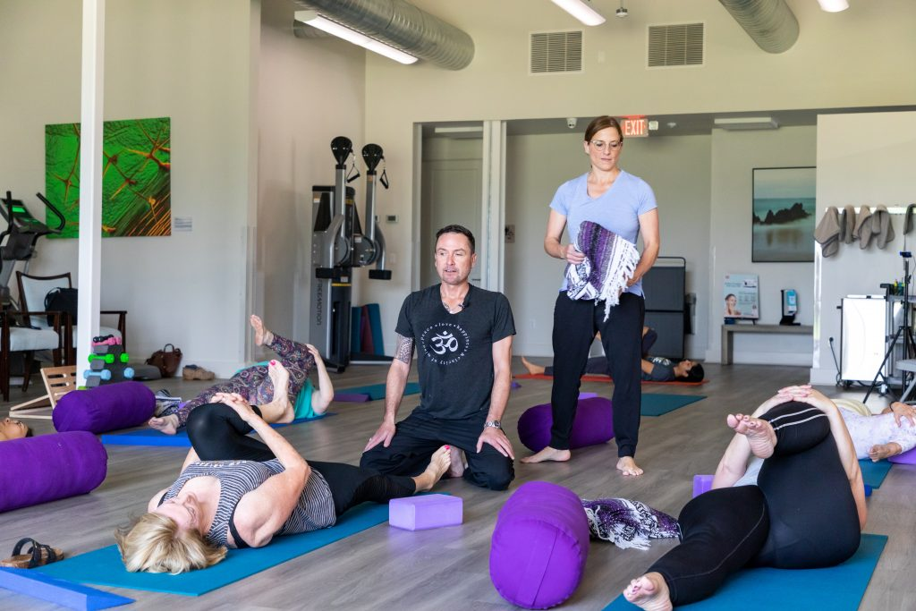 Recap: Our First Yoga Workshop
